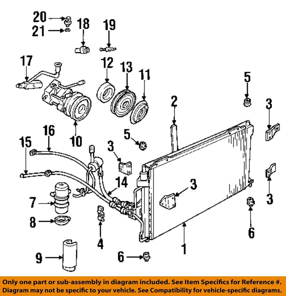 Ford Aerostar Air Conditioning Diagram