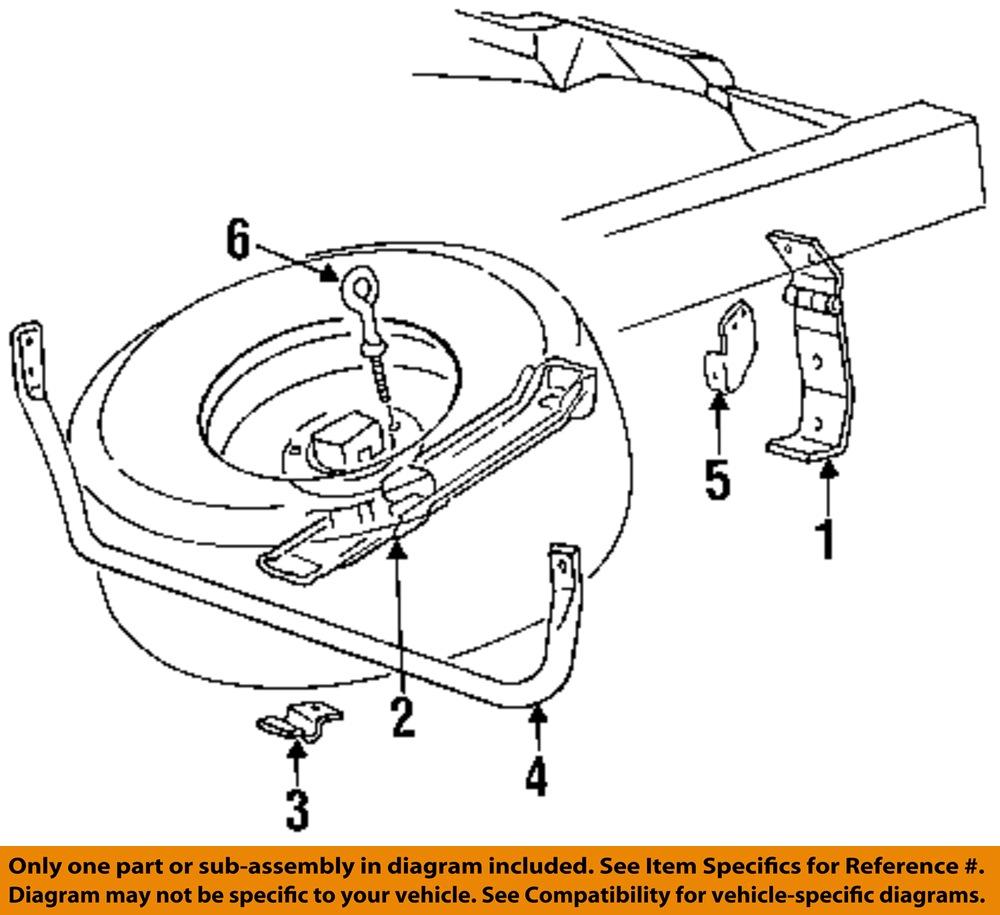hight resolution of ford oem 93 97 ranger neum tico de repuesto portador barra de discount tire diagram ford oem