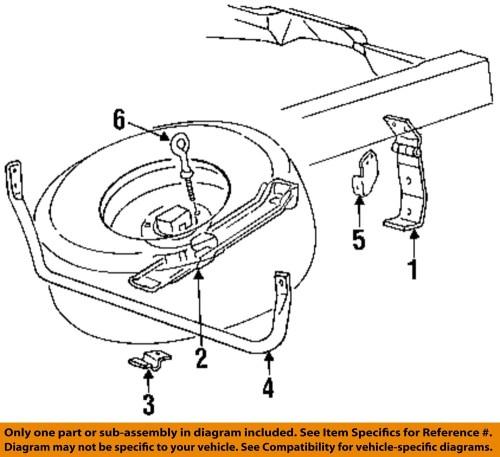 small resolution of ford oem 93 97 ranger neum tico de repuesto portador barra de discount tire diagram ford oem