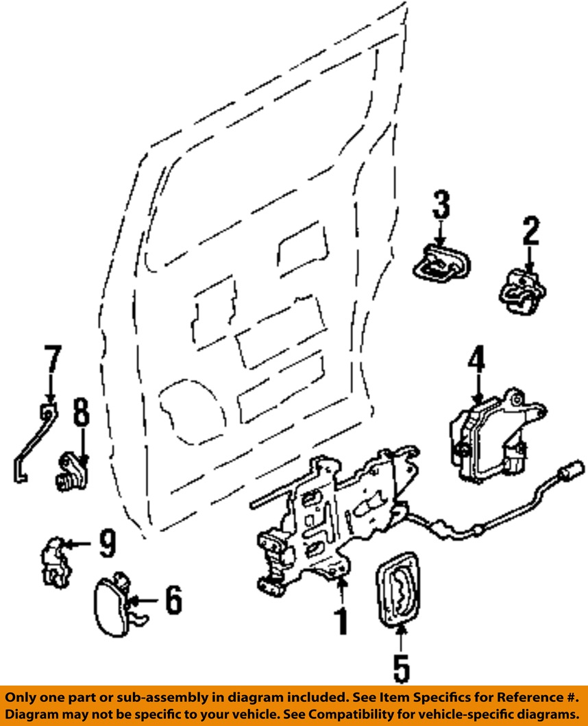 1997 Mercury Villager Parts On Ebay Auto Parts Diagrams