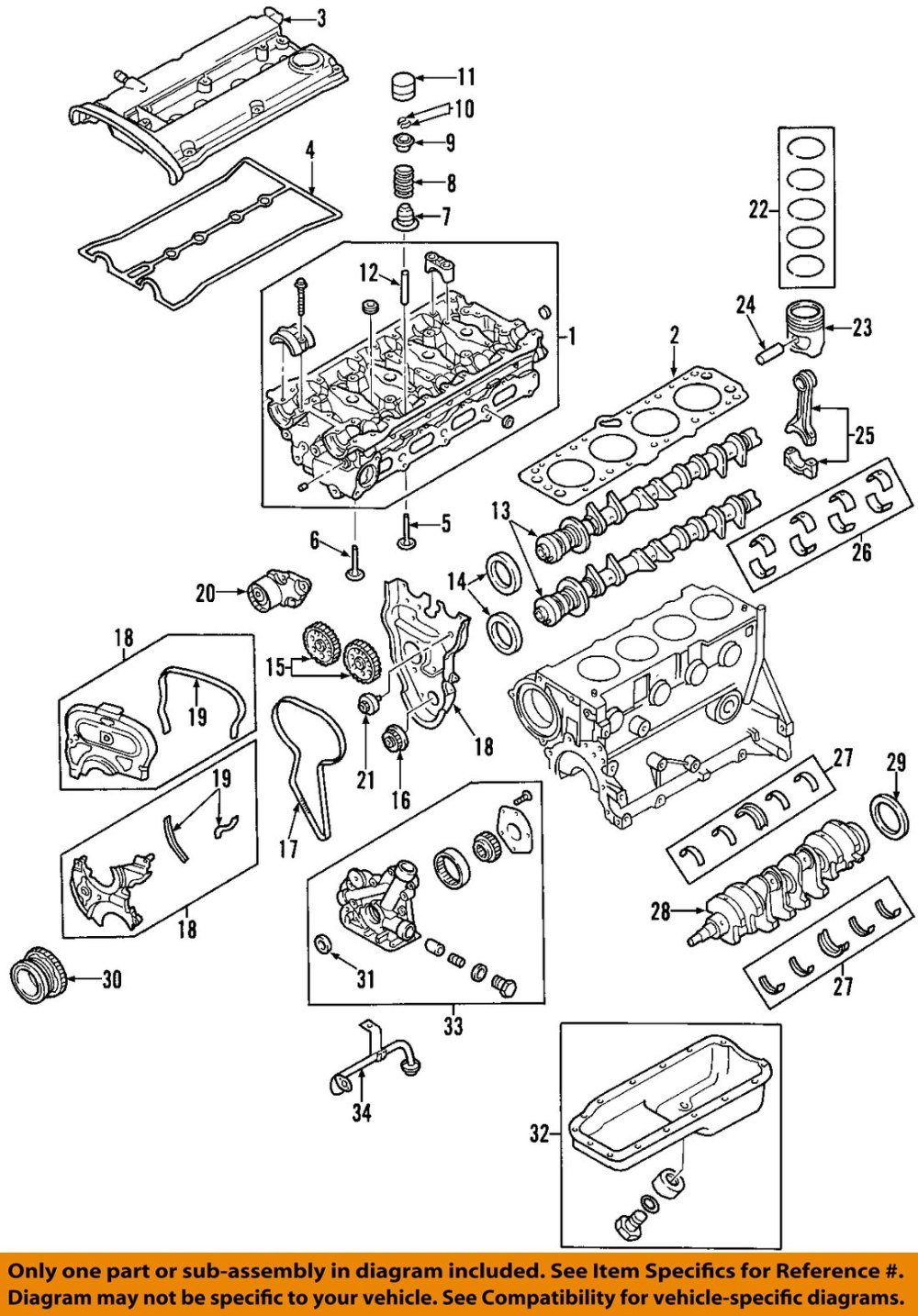 medium resolution of gm oem engine oil pan 25181235 ebay rh ebay com chevy truck engine diagram chevy v6
