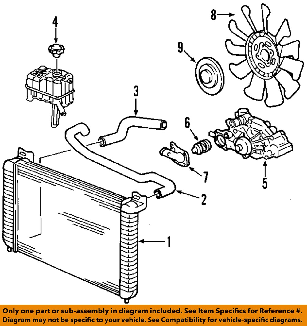 hight resolution of gm oem engine coolant thermostat 12600171 ebay 1999 chevy silverado radiator diagram chevy silverado evap system