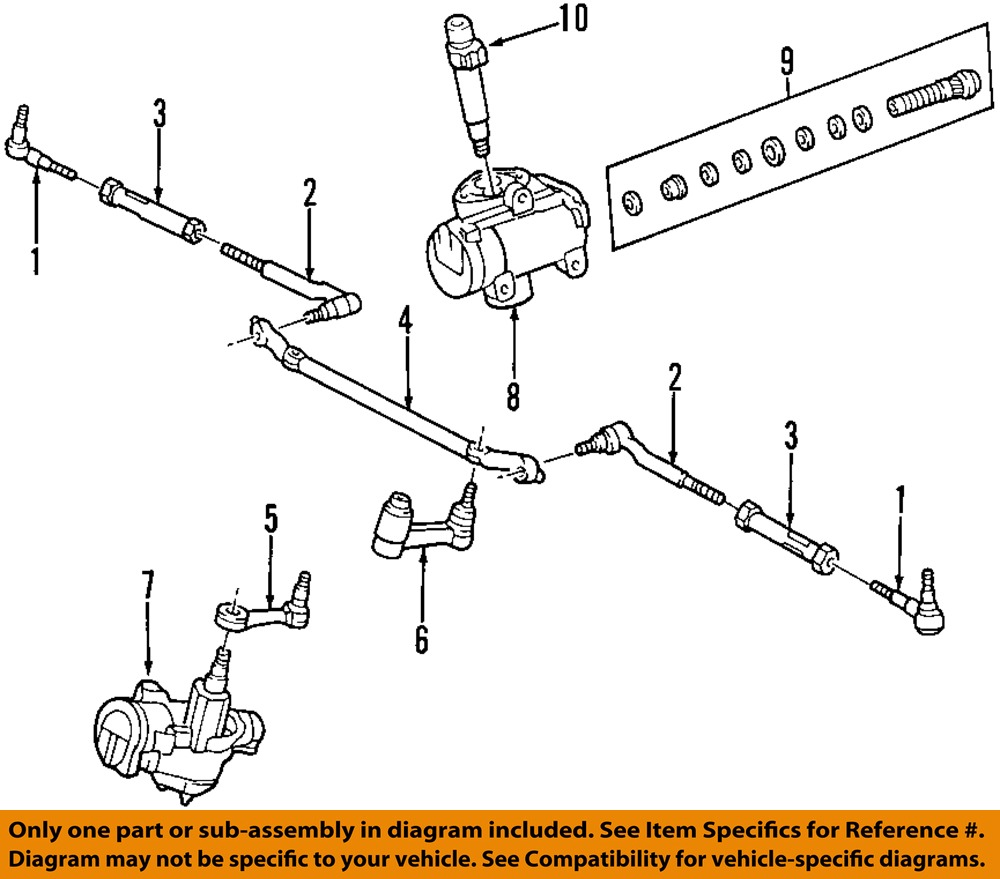 hight resolution of ford oem steering gear idler arm 1l3z3350ab