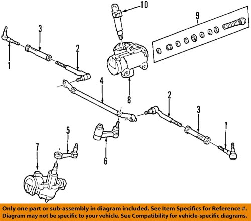 small resolution of ford oem steering gear idler arm 1l3z3350ab