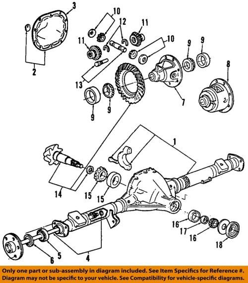 small resolution of ford oem rear axle shaft lock c7az4n237a