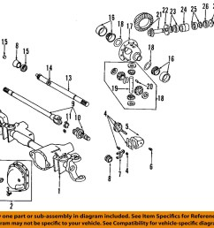 details about chrysler oem front axle universal joint u joint 4137757 2008 dodge ram 1500 front differential diagram [ 1000 x 941 Pixel ]