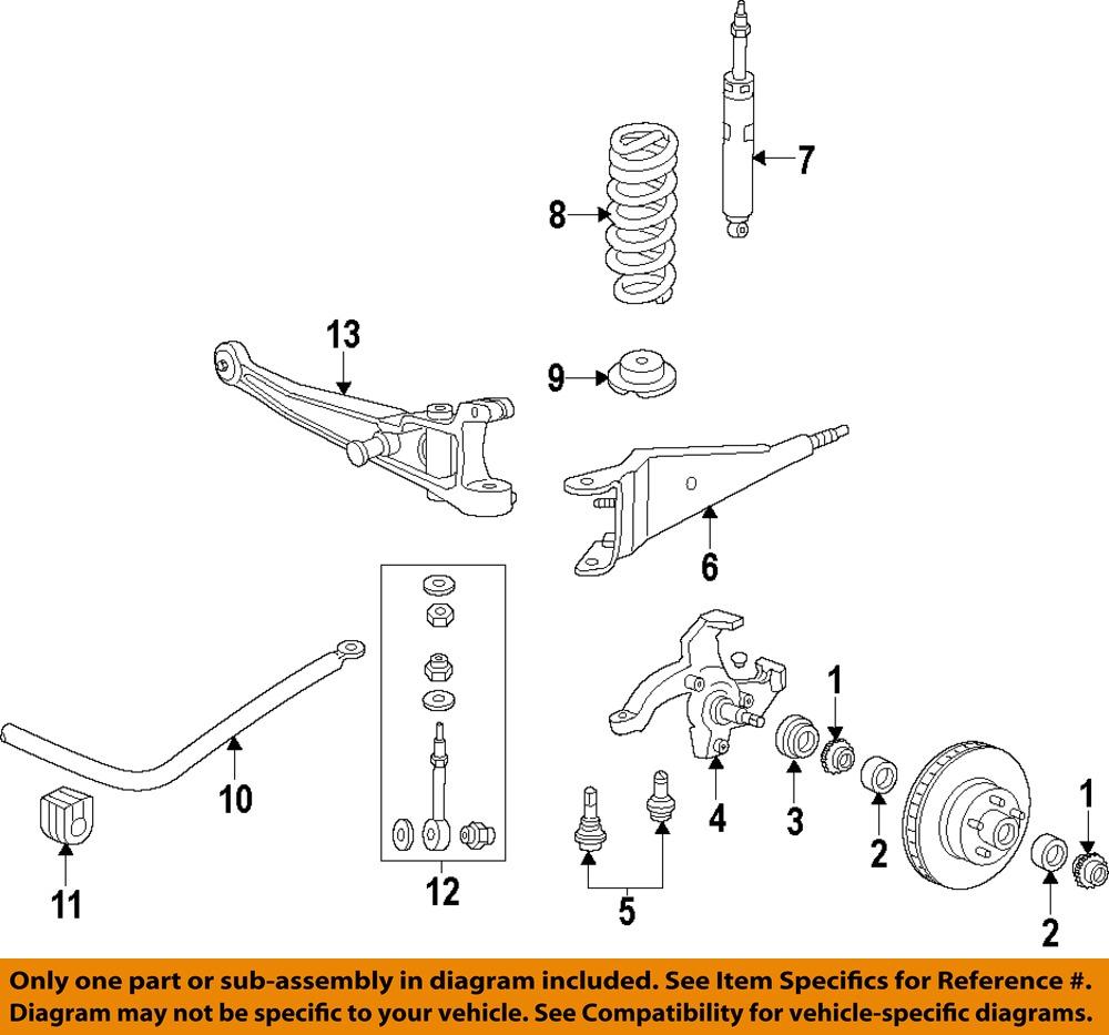 2005 Trailblazer Suspension Diagram Auto Parts Diagrams
