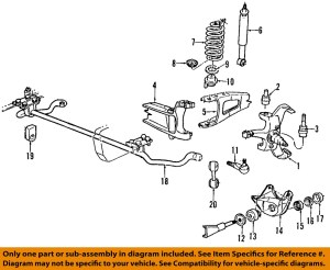 FORD OEM 9296 F150 Front SuspensionMounting Bracket