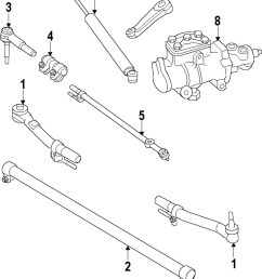 ford oem 05 15 f 350 super duty steering gear outer tie rod bc3z3a131c [ 832 x 1058 Pixel ]