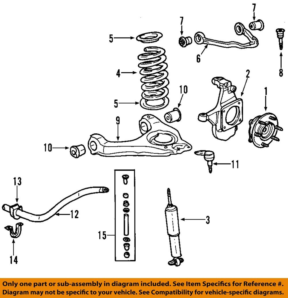 front end diagram acura tl stereo wiring 2003 gmc yukon xl suspension all data 2007 hub