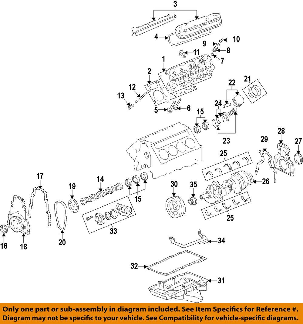 medium resolution of gm oem engine valve cover 12642655 ebay 1994 oldsmobile 3 8 engine diagram 1997 oldsmobile bravada