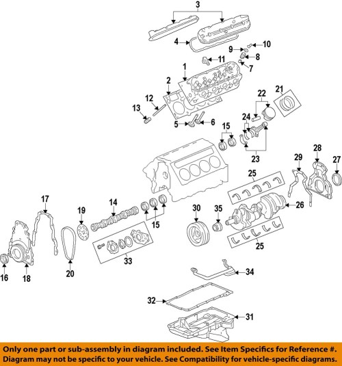 small resolution of gm oem engine valve cover 12642655 ebay 1994 oldsmobile 3 8 engine diagram 1997 oldsmobile bravada