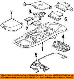 dodge chrysler oem 99 02 ram 3500 overhead roof console wire harness details about dodge chrysler [ 1000 x 1045 Pixel ]