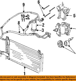 dodge chrysler oem 98 02 ram 3500 ac a c air conditioner 2001 dodge air conditioning diagram [ 1000 x 1006 Pixel ]