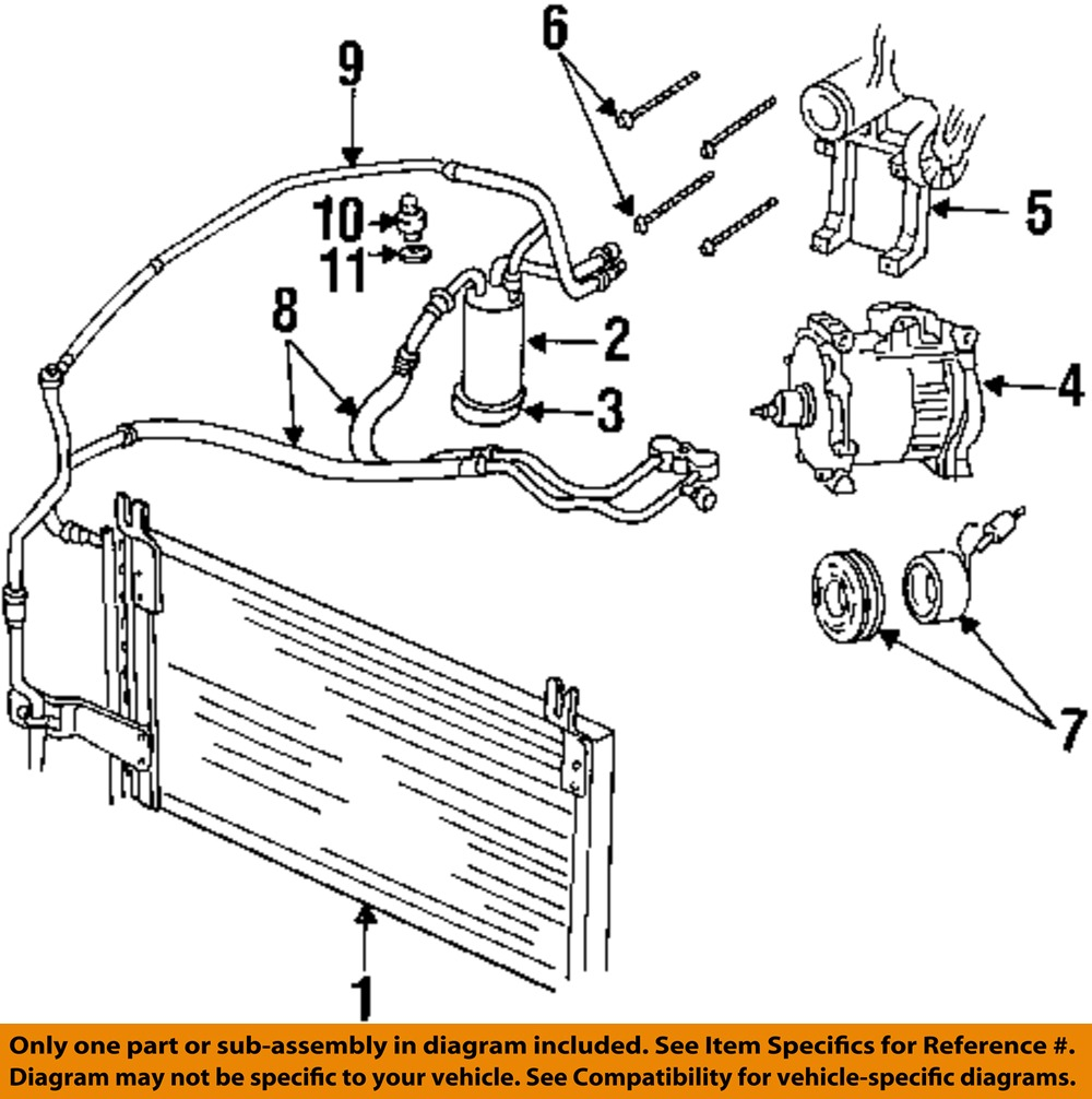 hight resolution of dodge chrysler oem 98 02 ram 3500 ac a c air conditioner 2001 dodge air conditioning diagram