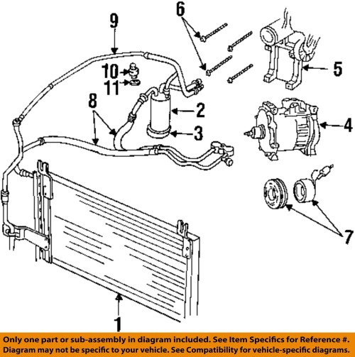 small resolution of dodge chrysler oem 98 02 ram 3500 ac a c air conditioner 2001 dodge air conditioning diagram