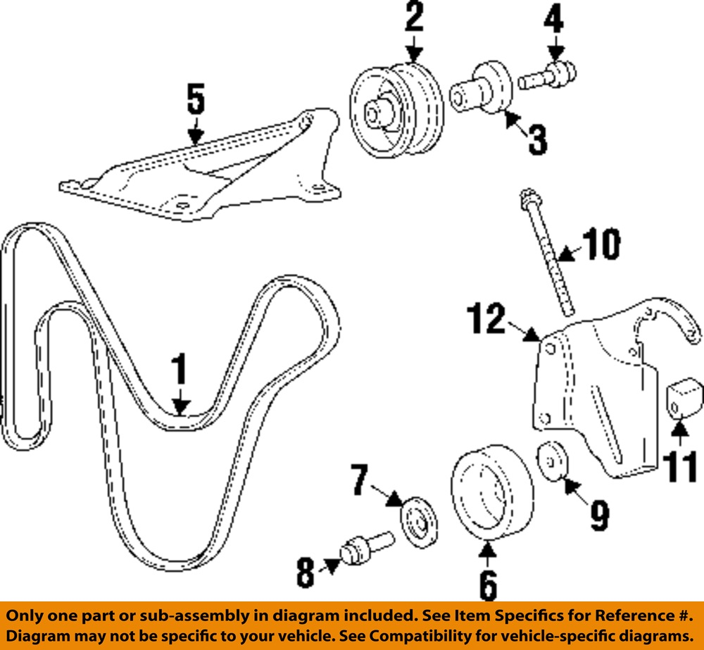 hight resolution of jeep chrysler oem 97 01 cherokee serpentine drive fan belt 97 jeep cherokee serpentine belt replacement 1997 jeep grand cherokee laredo serpentine belt