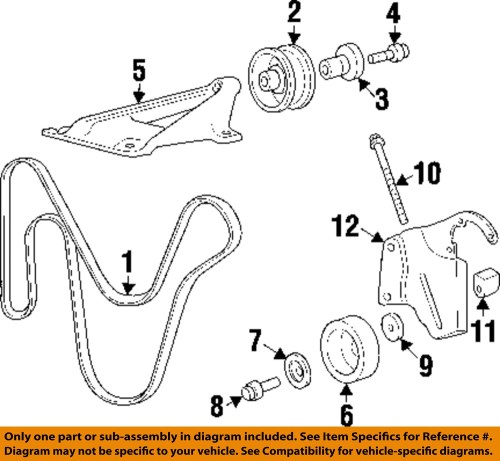 small resolution of jeep chrysler oem 97 01 cherokee serpentine drive fan belt 97 jeep cherokee serpentine belt replacement 1997 jeep grand cherokee laredo serpentine belt