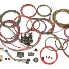 Painless Wiring Diagram 55 Chevy Vdo Tachometer Chassis Wire Harness 20107 Fits 57