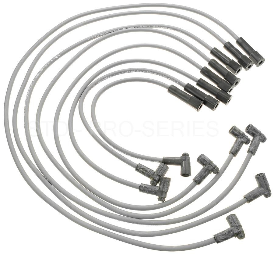 Spark Plug Wire Set Standard 26838 fits 77-79 Cadillac