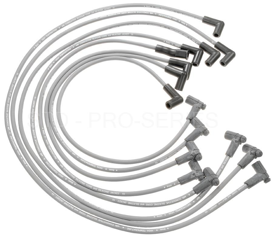 Spark Plug Wire Set Standard 26892 fits 85-91 Chevrolet