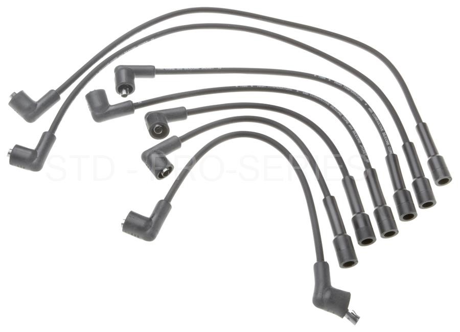 Spark Plug Wire Set fits 1976-1976 Triumph TR6 STANDARD