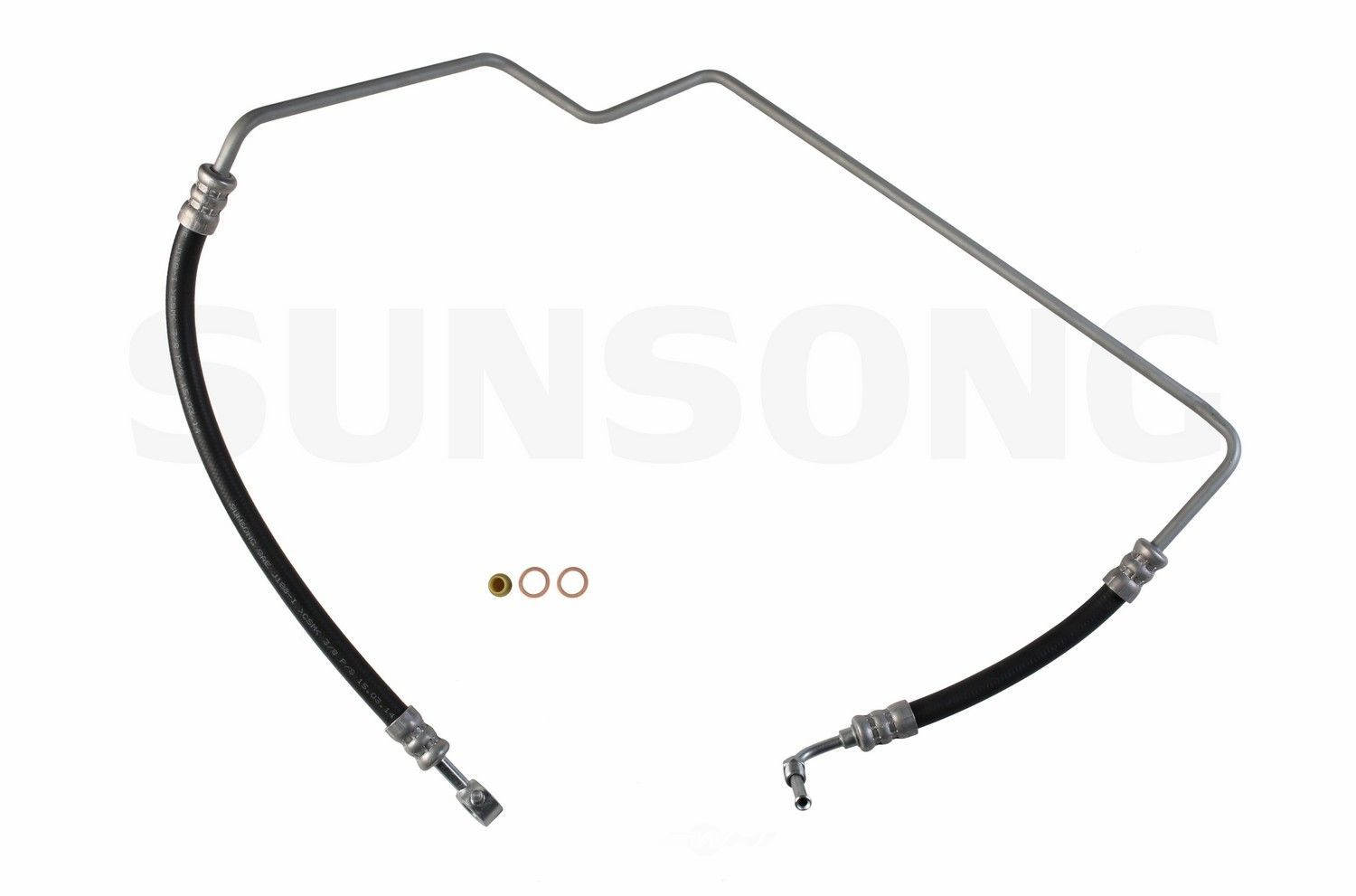 Power Steering Pressure Line Hose Assembly Fits 99 04 Nissan Frontier