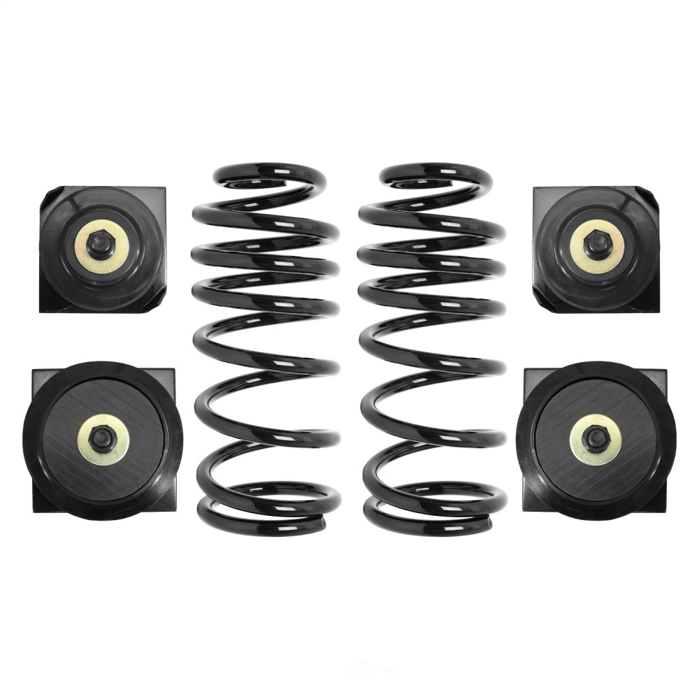 medium resolution of details about air spring to coil spring conversion kit rear fits 97 98 lincoln continental