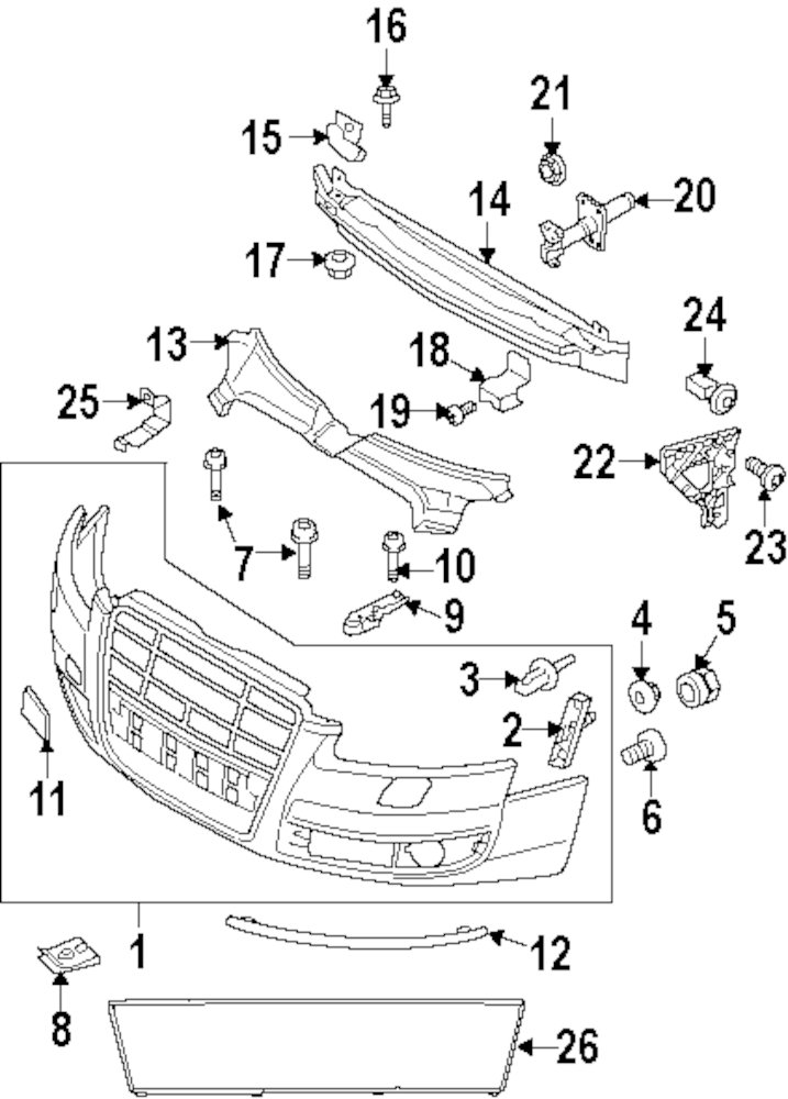 2011 Audi Parts Diagram. Audi. Auto Parts Catalog And Diagram