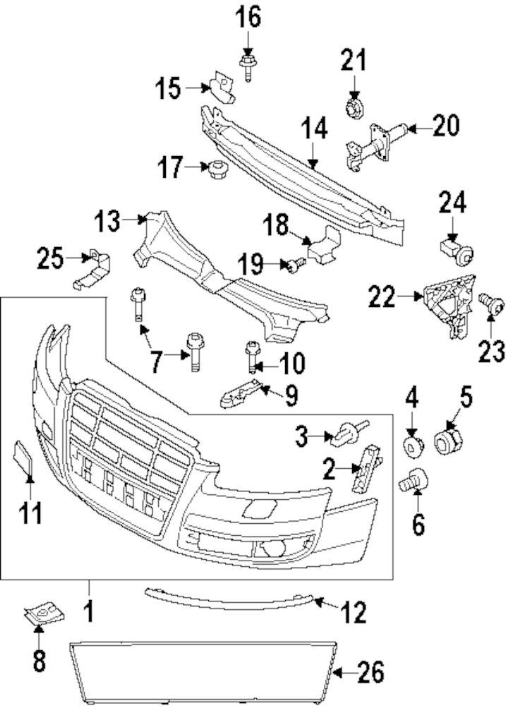 2011 Audi Parts Diagram. Audi. Auto Parts Catalog And Diagram