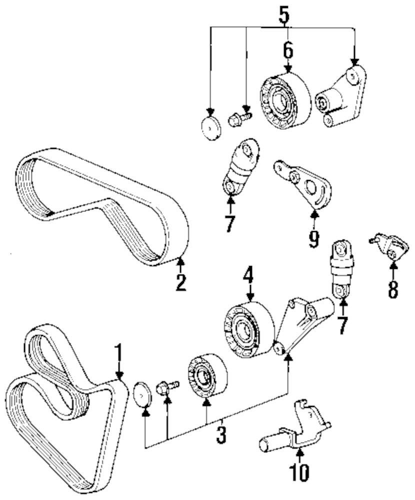 Genuine bmw adjust lever bmw 11281747656