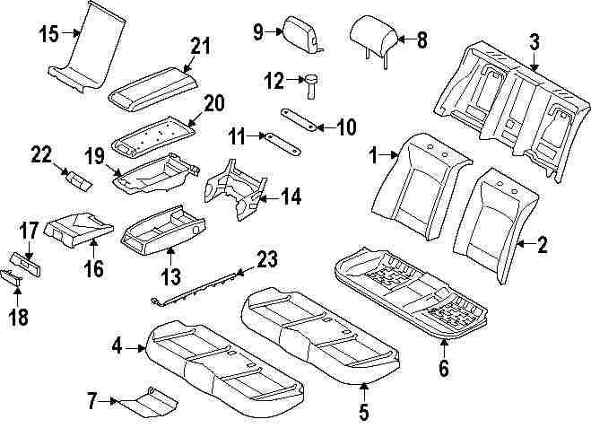 BMW Back Seat Diagram. BMW. Wiring Diagrams Instructions