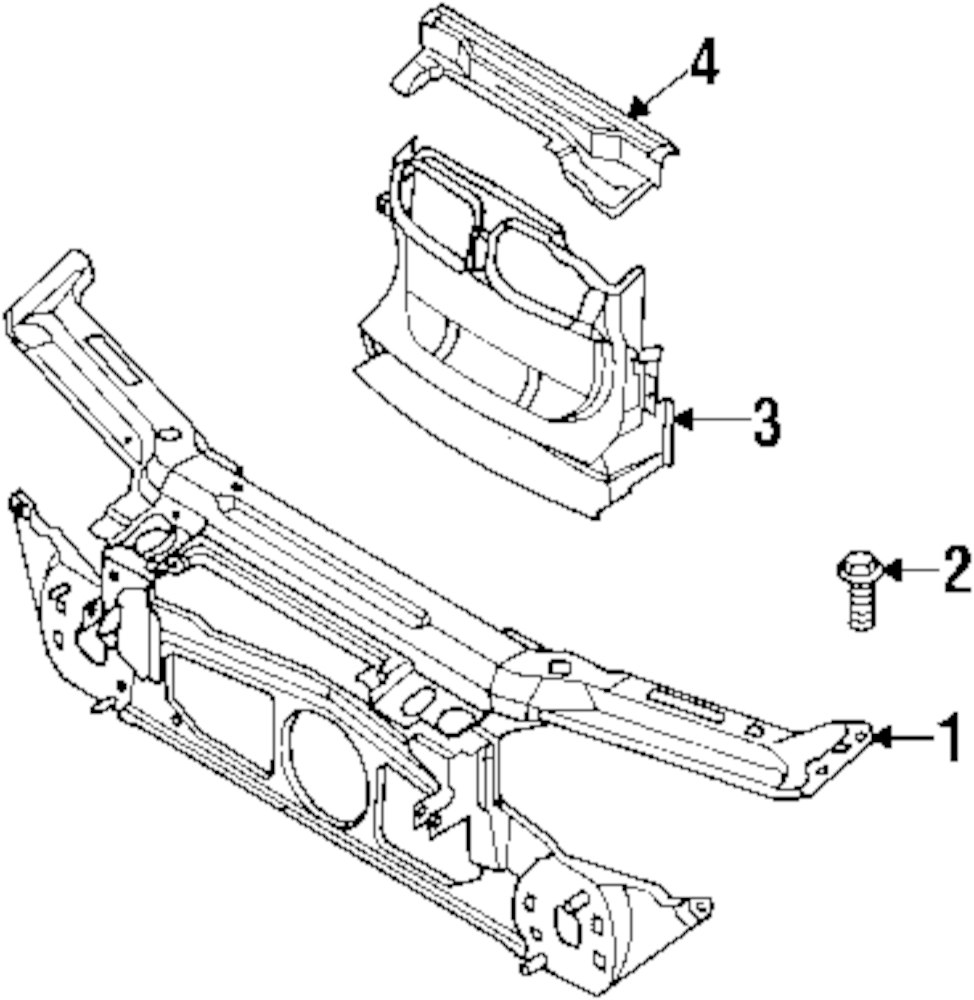 Genuine bmw oil cooler bolt bmw 07119903995