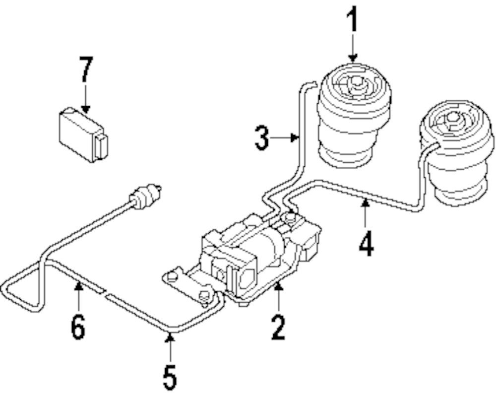 Genuine bmw air hose bmw 37206781223