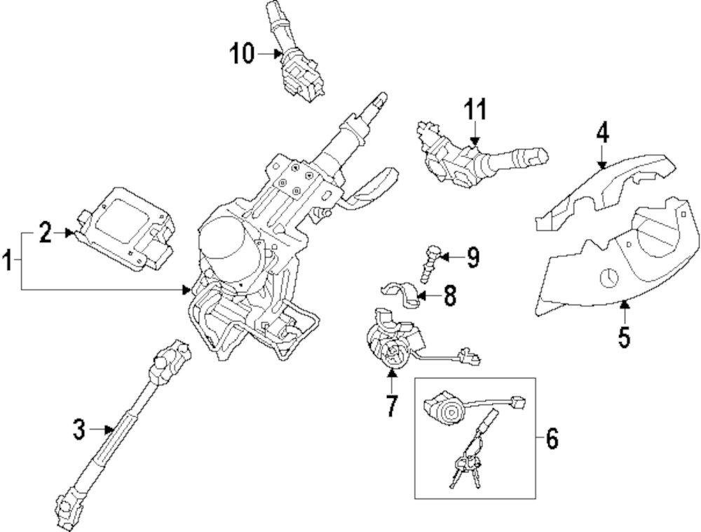 2012 Kia Optima Steering Parts Diagram Html