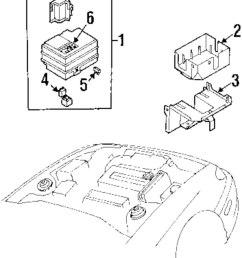genuine kia fuse box label kia 0k2n167731 [ 844 x 1000 Pixel ]