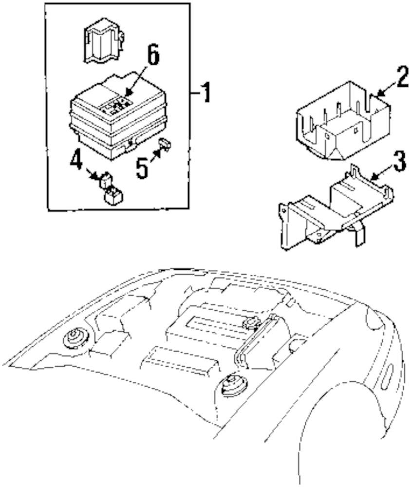 hight resolution of genuine kia fuse box label kia 0k2n167731
