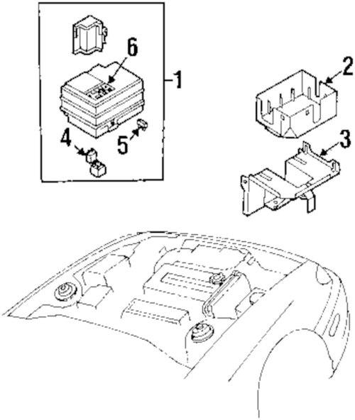 small resolution of genuine kia fuse box label kia 0k2n167731