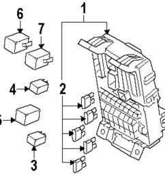 genuine kia mini fuse kia 1898004815 [ 993 x 1000 Pixel ]