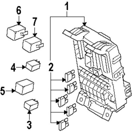 small resolution of genuine kia mini fuse kia 1898004815