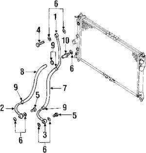 2000 DAEWOO LEGANZA Parts  Mopardirectparts | 100259