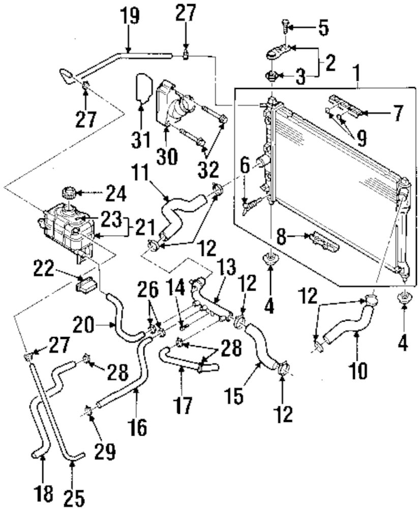 medium resolution of 2000 daewoo leganza exhaust diagram wiring diagram paperdiagram cooling system fiat on 2001 daewoo leganza cooling