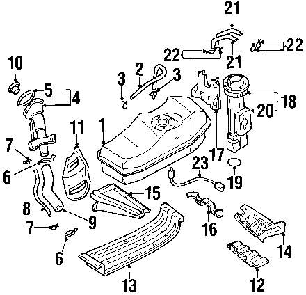 2002 Nissan Fuel System Diagram. Nissan. Auto Parts