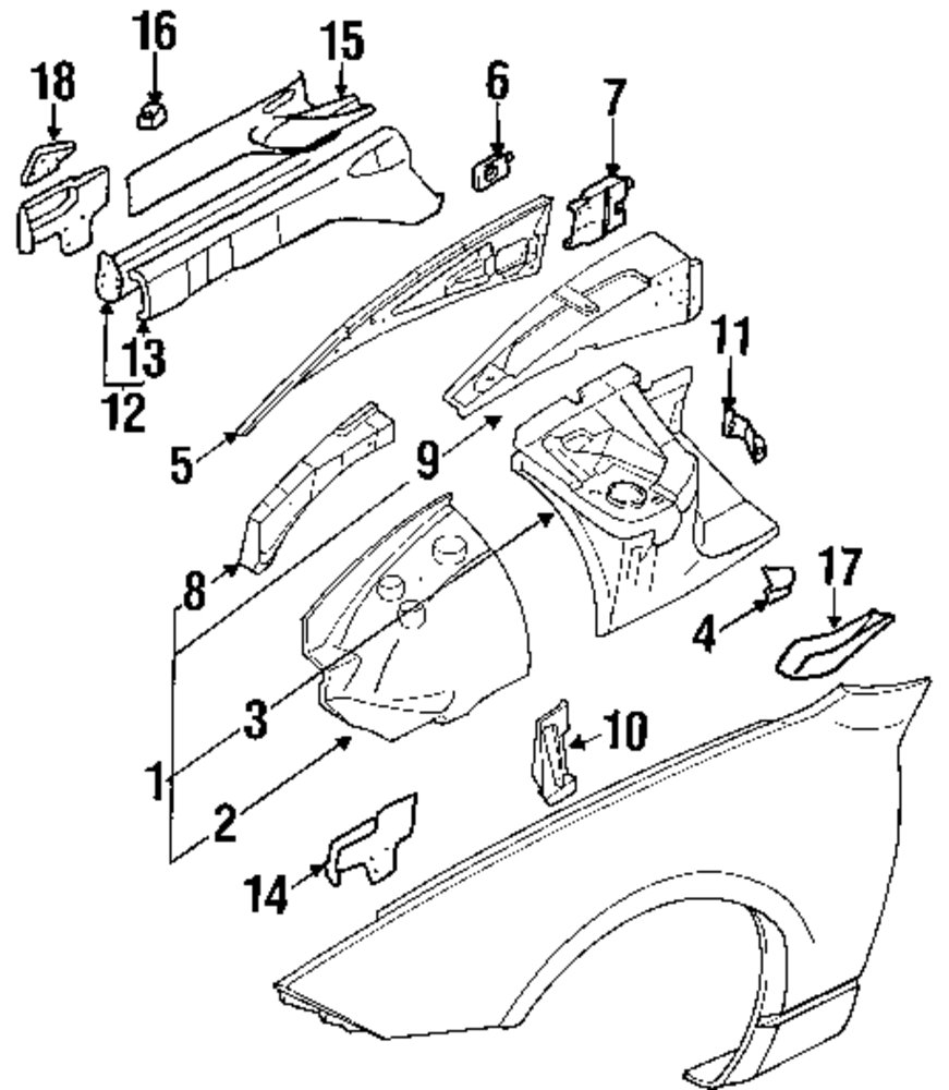 Service manual [1993 Nissan 300zx Digram For A Rear Floor
