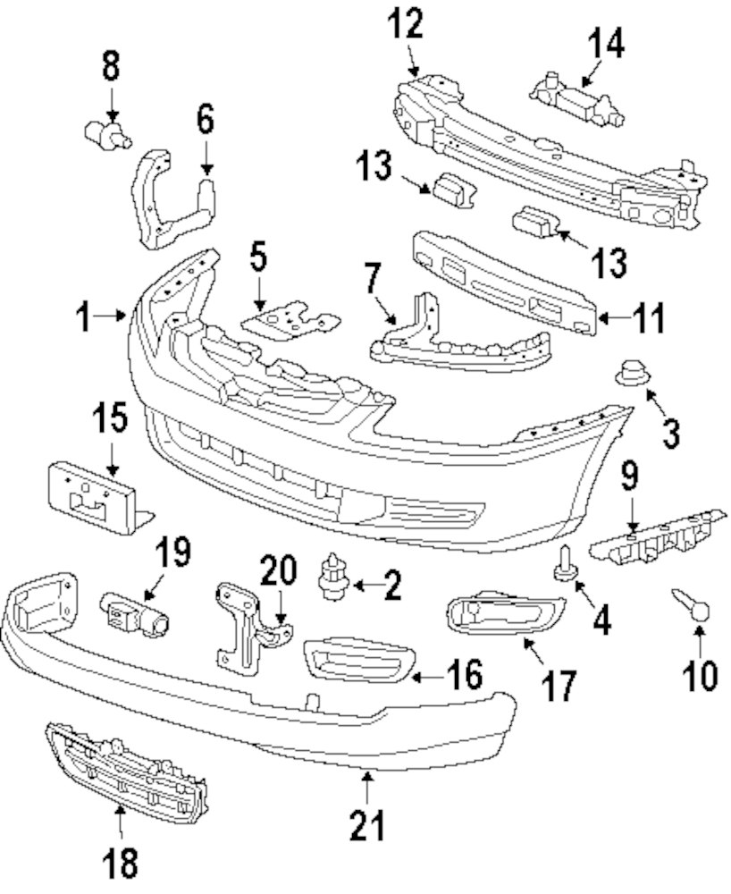 Mitsubishi Outlander Interior Parts Diagram. Mitsubishi