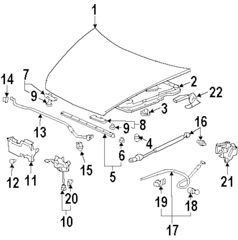 hight resolution of mitsubishi endeavor questions 2004 mitsubishi endeavor engine diagram 2004 mitsubishi endeavor hood and components parts