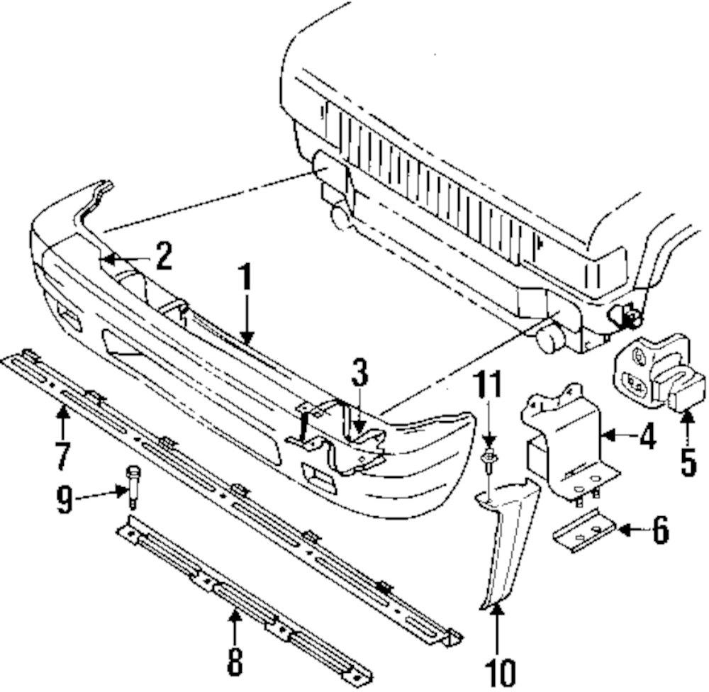 Genuine isuzu side panel bolt isu 0286506160