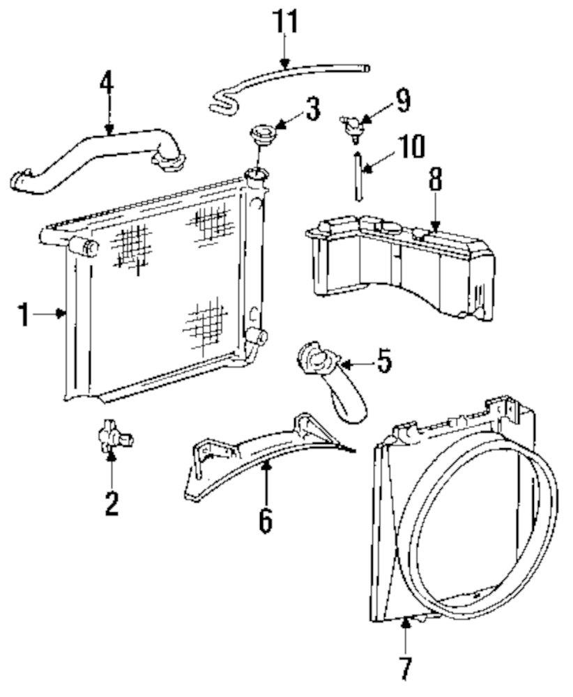 Genuine mazda radiator assy maz zzl415200b