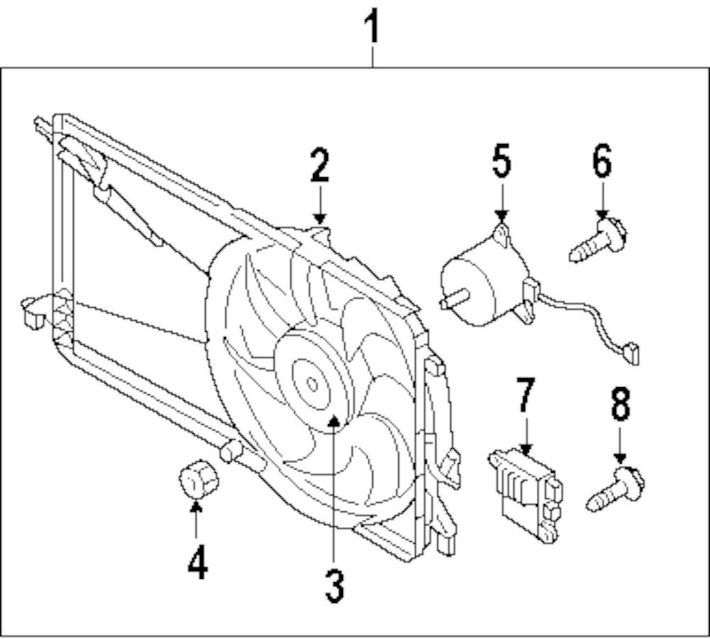 Genuine mazda access cover screw maz lfb715t52