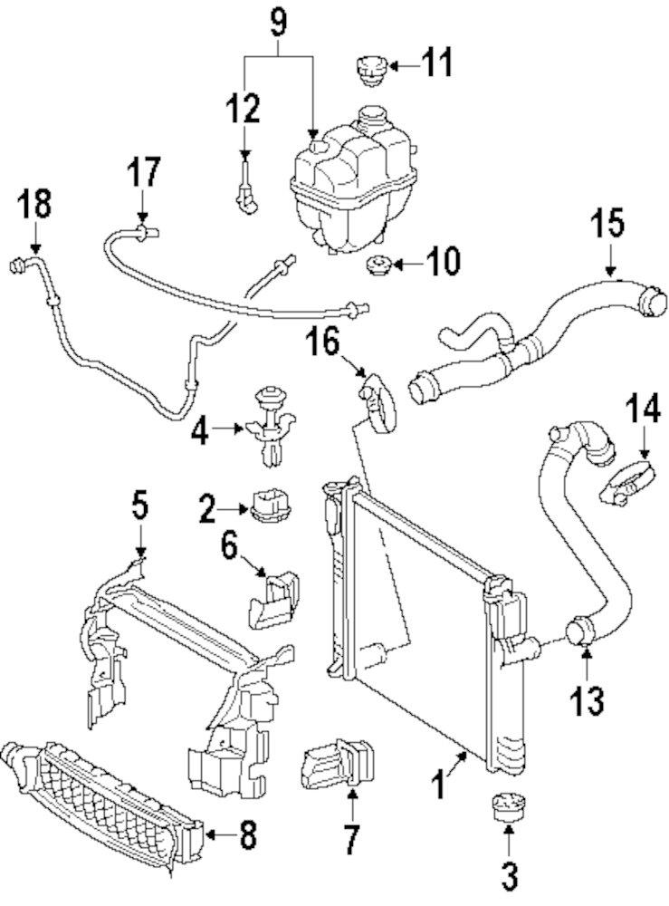 Mercedes C320 Engine Coolant Diagram